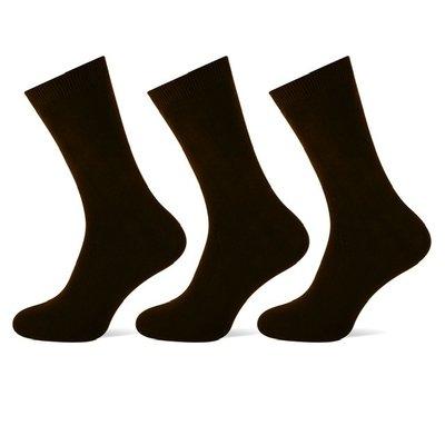 3 stuks Heren sokken Zwart