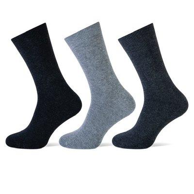 3 stuks Dames sokken Antraciet