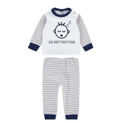 Beeren Baby pyjama Do Not Disturb Grijs