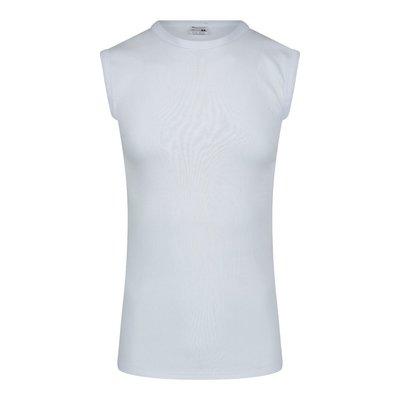 Beeren Heren mouwloos shirt met ronde hals M3000 Wit
