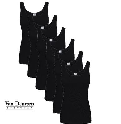 Beeren 6-Pack Dames hemd Madonna Zwart