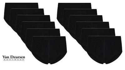 Beeren 12-Pack Heren slip met gulp M3000 Zwart