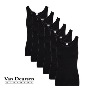 Beeren 6-Pack Dames hemd Comfort Feeling Zwart