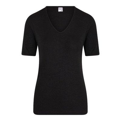 Beeren Thermo dames shirt met korte mouw Zwart