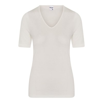 Beeren Thermo dames shirt met korte mouw Wolwit