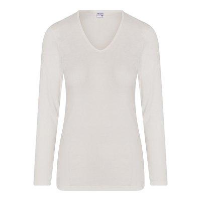 Beeren Thermo dames shirt met lange mouw Wit