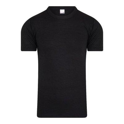 Beeren Heren thermo hemd met korte mouw Zwart