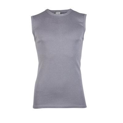 Beeren Heren mouwloos shirt met ronde hals M3000 Grijs