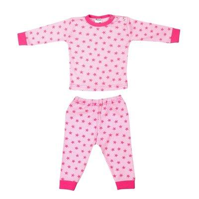 Beeren Baby pyjama Stripe/Star Roze