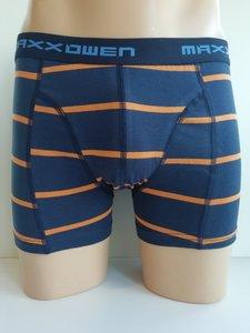 Maxx Owen Heren Boxershort gestreept Oranje