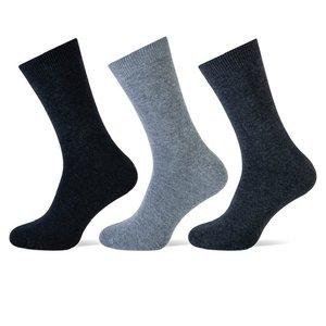3 stuks Heren sokken Antraciet